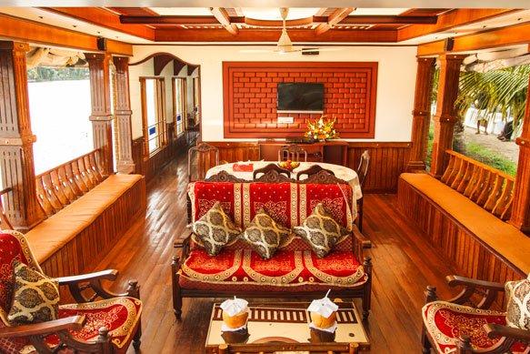 premium houseboat 5 bedroom
