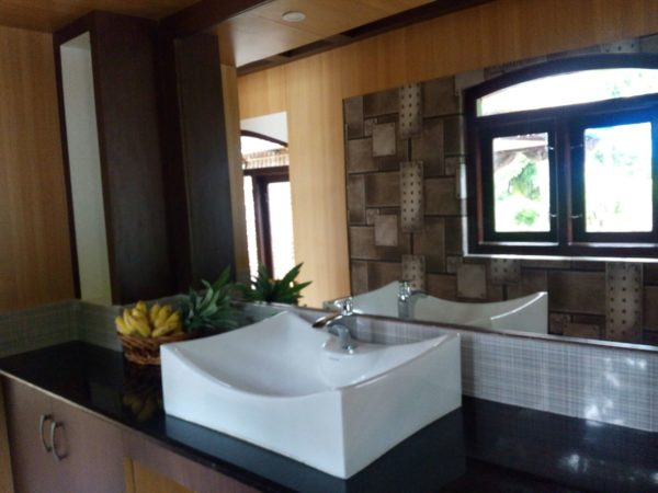 Washing Area houseboat
