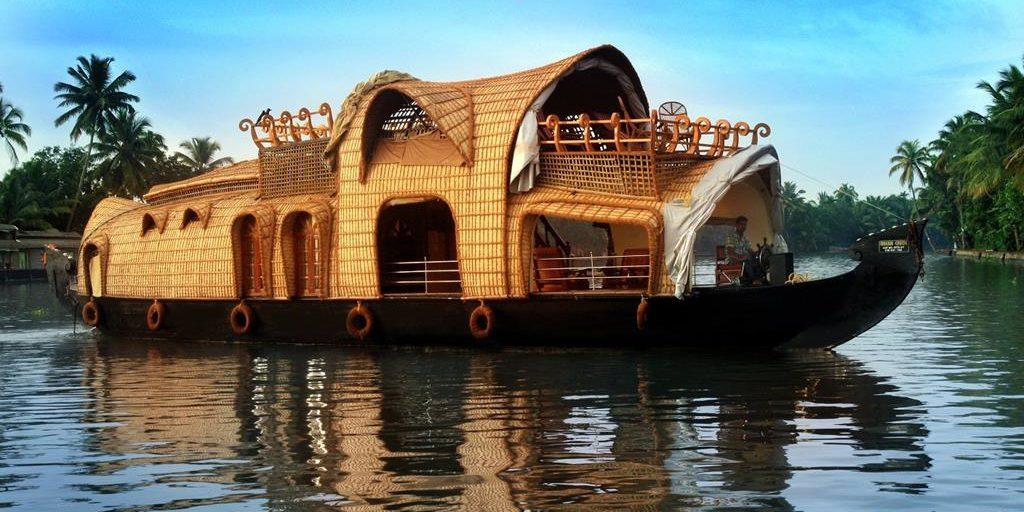 Houseboat ride on Kerala backwaters