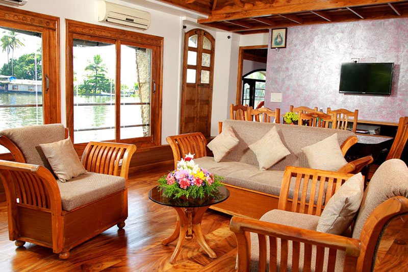 3 bedroom houseboats in alleppey kerala